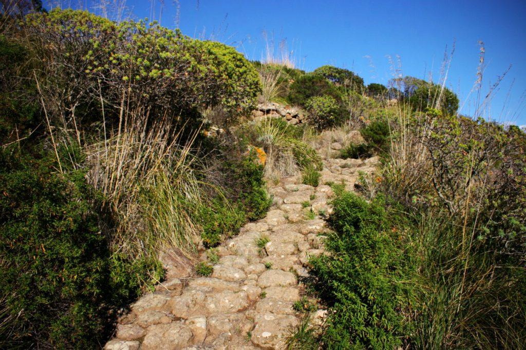 Le Favare - Sentiero